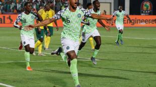 William Troost-Ekong a marqué le but de la victoire du Nigeria face à l'Afrique du Sud