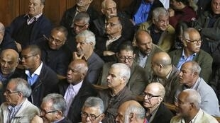 Some of the Chibanis in the appeal court