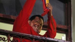 查韋斯再次當選委內瑞拉總統