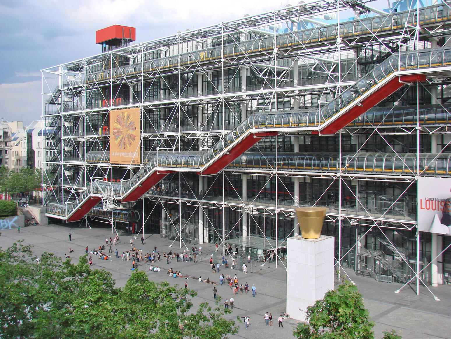 Trung tâm Văn Hóa Pompidou - Paris.