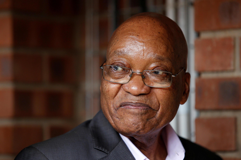 Le président sud-africain Jacob Zuma, le 1er avril 2017.