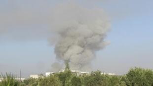 Tropas governamentais realizaram uma operação na cidade de Taldo, nos arredores de Homs, no centro da Síria.
