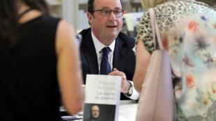 François Hollande, le 14 juin dernier à Nice.