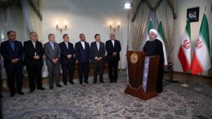 حسن روحانی در سخنرانی تلویزیونی