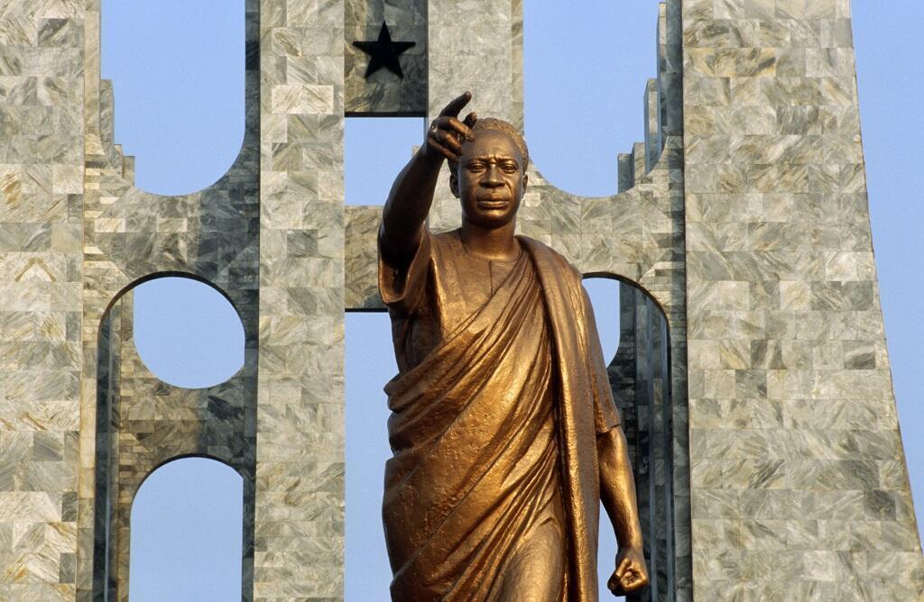 Mausolée à Accra de Kwame Nkrumah, premier président du Ghana