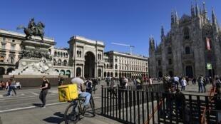 Les bénéficiaires du revenu de citoyenneté pourront toucher jusqu'à 780 euros par mois,non cumulable avec d'autres revenus du foyer. (Photo d'illustration: la Place du Dôme à Milian).