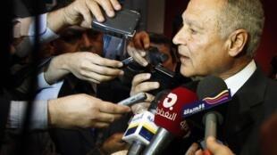 احمد ابوالغیط دبیر کل اتحادیۀ عرب