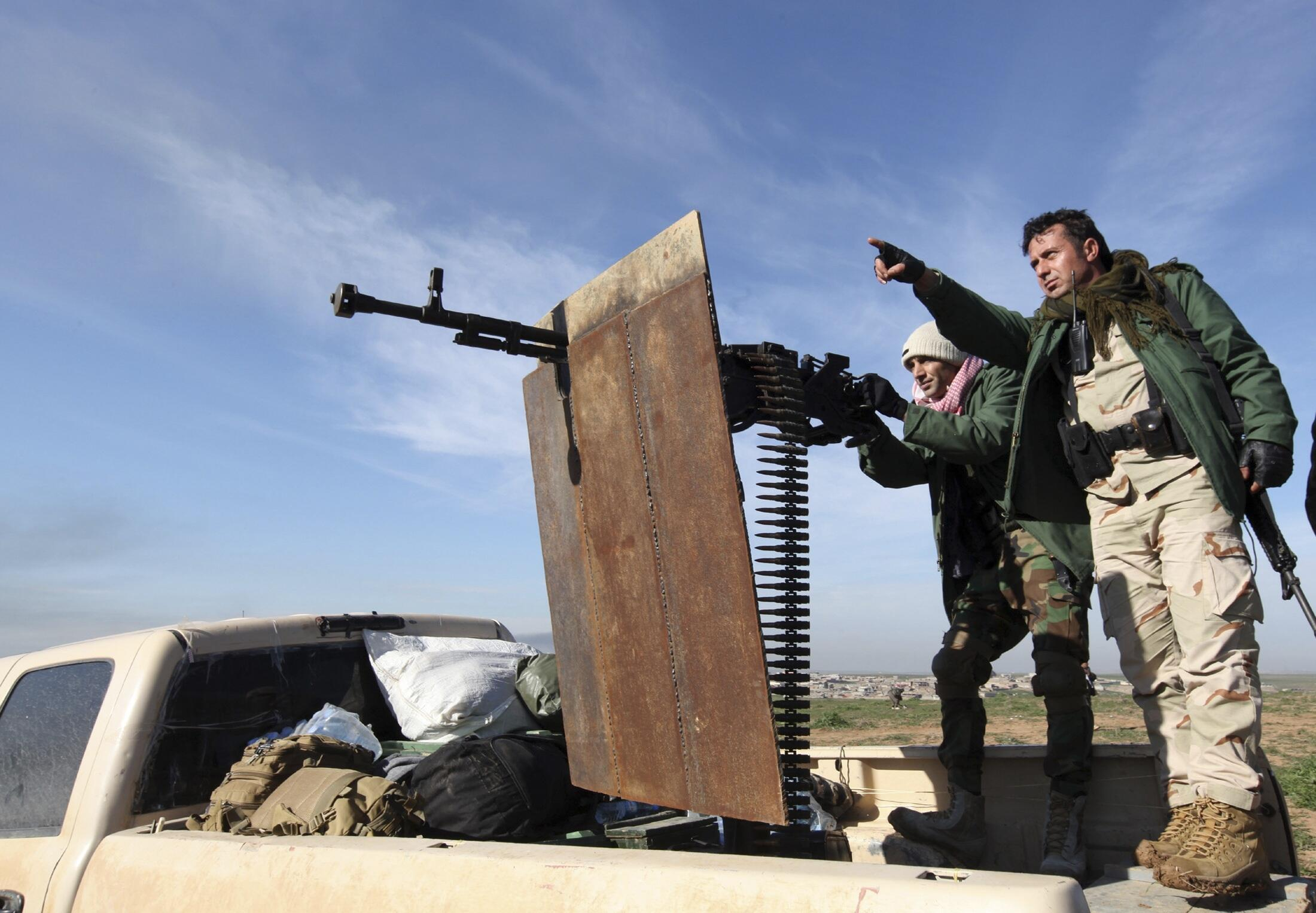 Lực lượng đặc biệt người Kurdistan tại Irak.