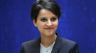 Najat Vallaud-Belkacem, France's newly appointed Women's Rights Minister and government spokesperson