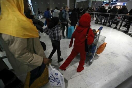 Des réfugiés africains à leur arrivée en France. (Image d'illustration)