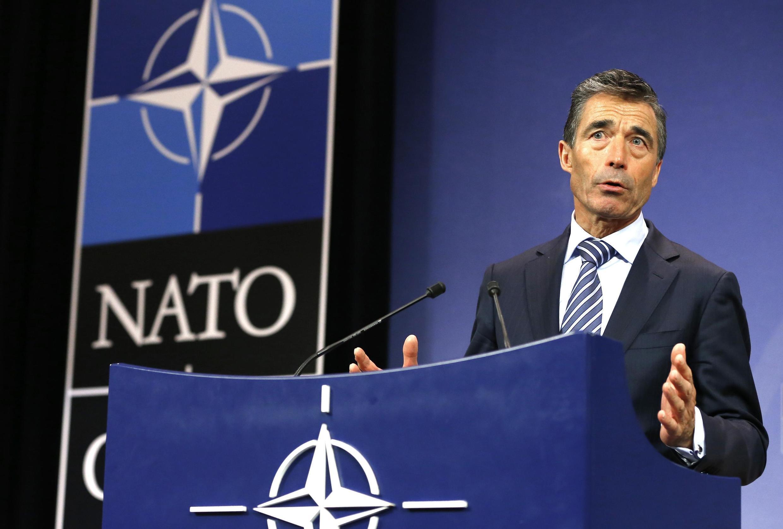 Le secrétaire général de l'OTAN, Anders Fogh Rasmussen, ne voit pas de rôle direct pour l'Alliance atlantique en cas d'une action militaire en Syrie.