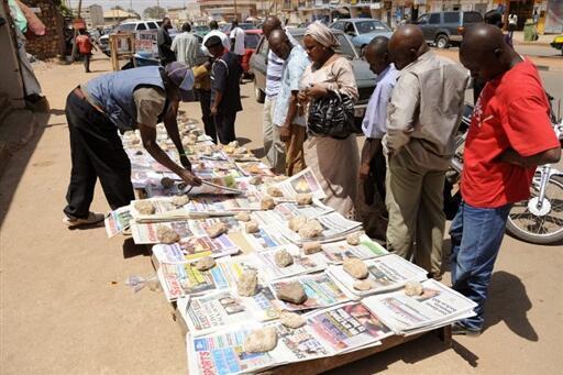 Situation critique pour la presse écrite gabonaise. Les tirages de certains journaux sont passés de 10.000 à 2000 exemplaires seulement. (Image d'illustration)