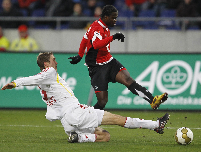 Didier Ya Konan en est à six buts cette saison avec le Hanover 96.