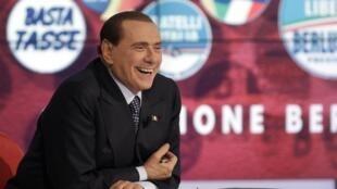 Silvio Berlusconi est toujours en lice pour les élections législatives italiennes des 24 et 25 février.