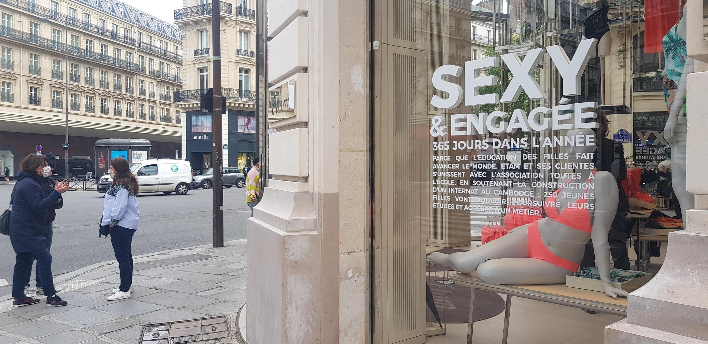 Paris Lingerie Shop 11 May Jour 1