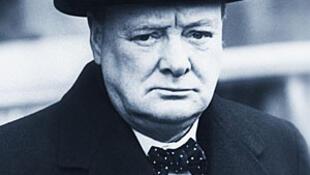 L'ancien Premier ministre britannique, Winston Churchill.