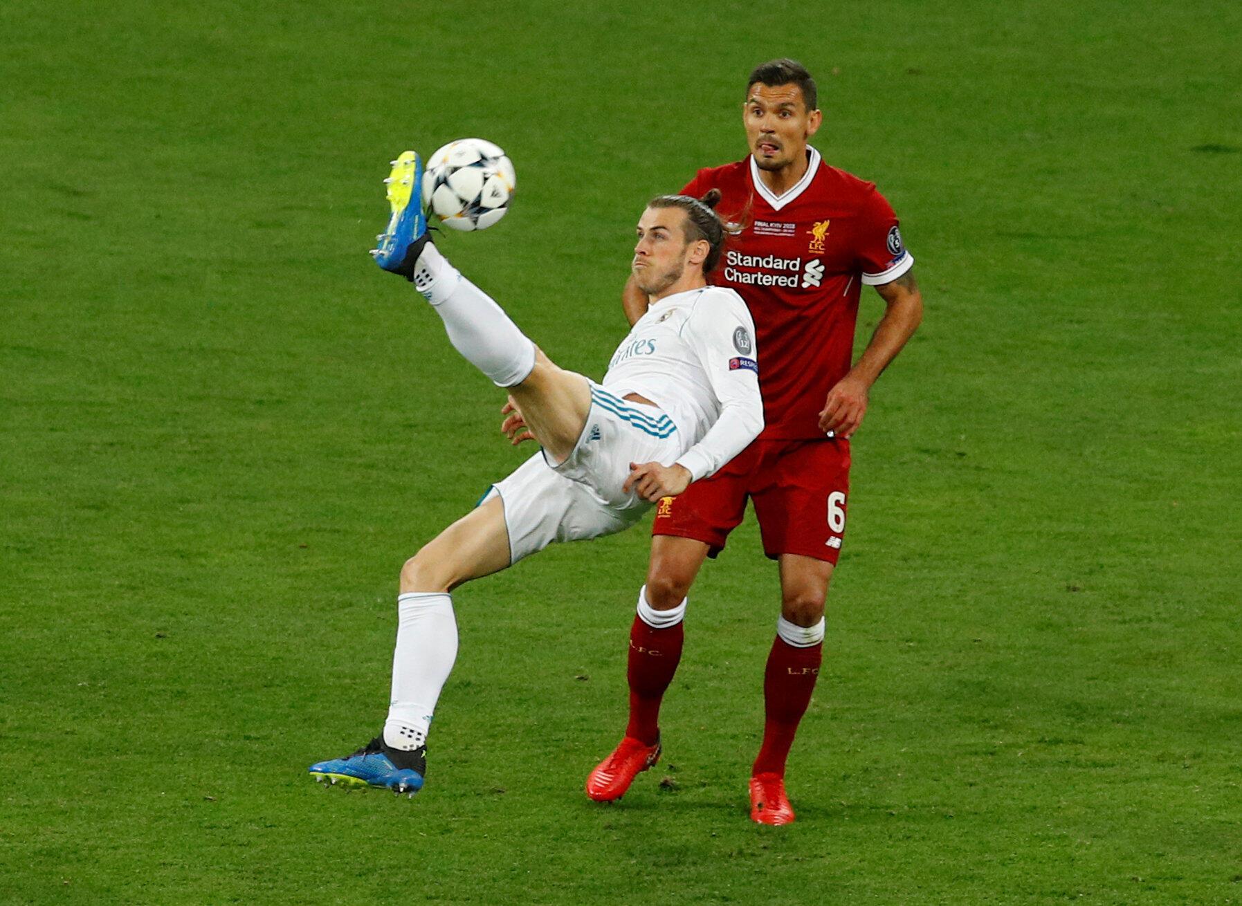 Le Gallois Gareth Bale a inscrit le deuxième but du Real d'un retourné acrobatique somptueux.