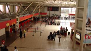 Aeropuerto internacional de la Habana José Martí.
