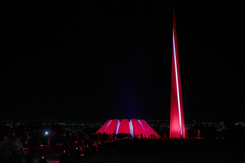 В Ереване отмечают 106 годовщину геноцида армян в Османской империи. 23 апреля 2021 г.
