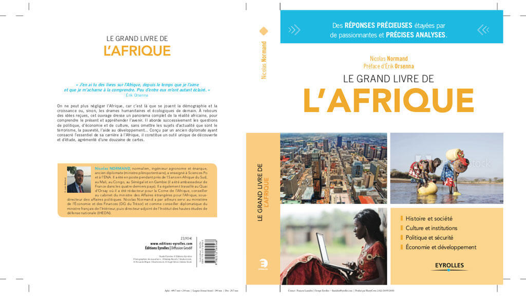 « Le Grand livre de l'Afrique » de Nicolas Normand, ex-Ambassadeur.