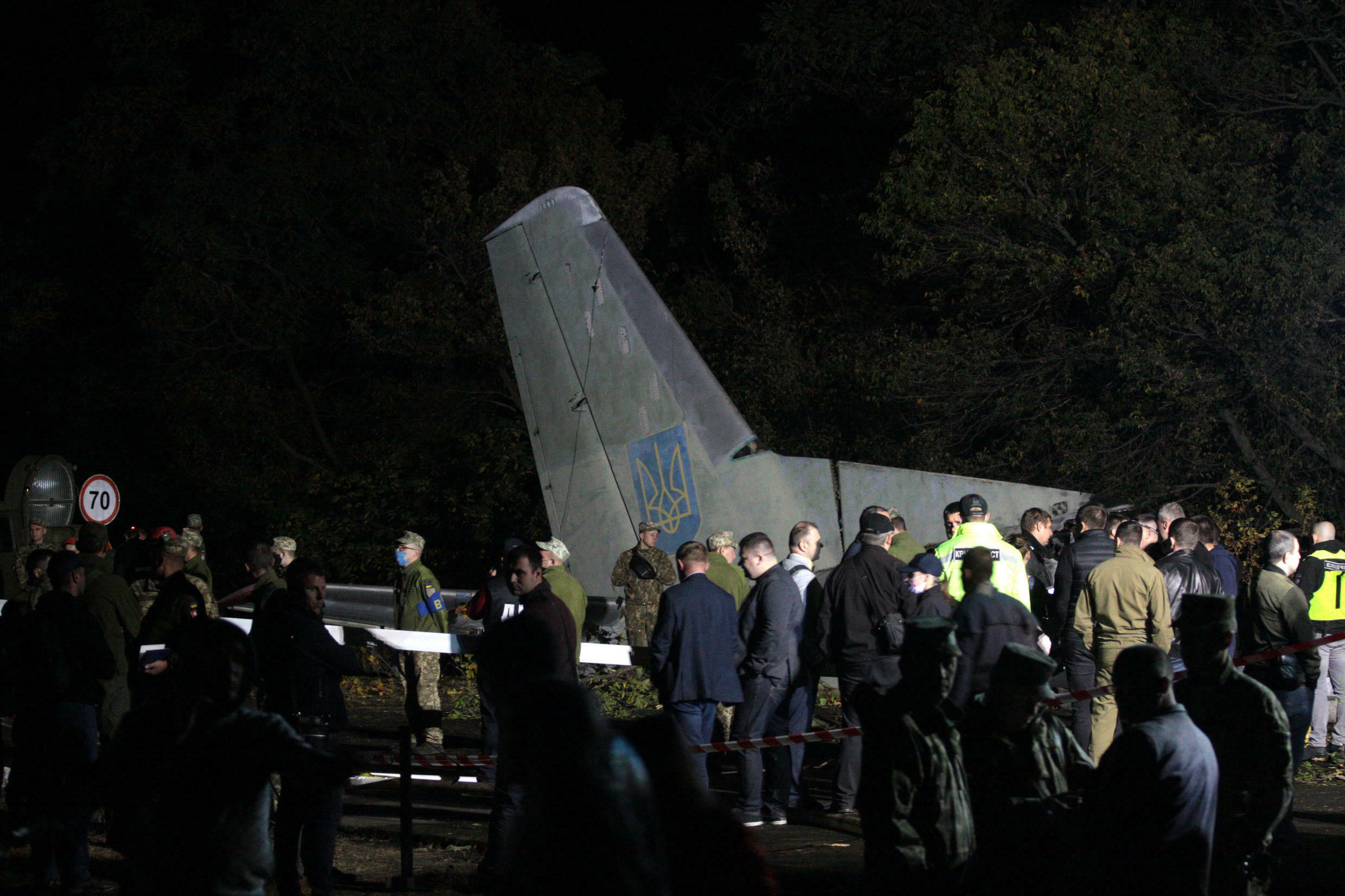 The cause of the crash is being investigated