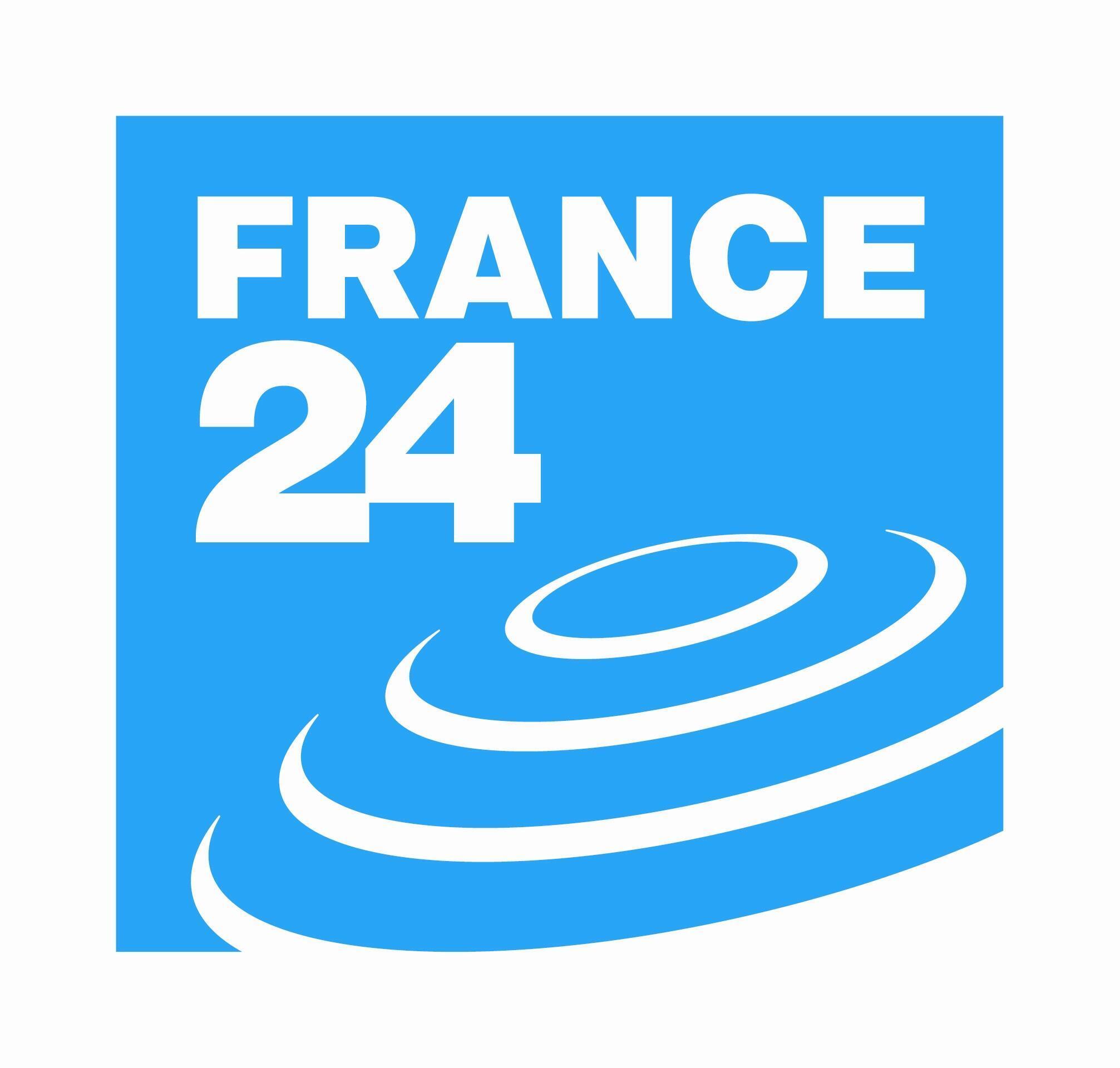 Le logo de France 24.