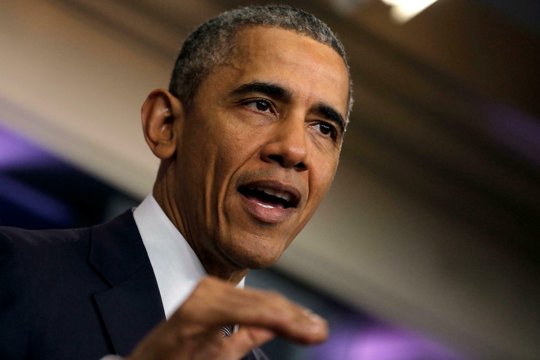 Le président américain Barack Obama lors de la conférence de presse du 6 mai 2016. à la Maison Blanche.