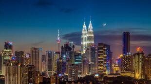 Vue de Kuala Lumpur, la capitale malaisienne.