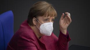 La canciller Angela Merkel, en el poder desde hace 16 años, dejará el gobierno después de las elecciones del 26 de septiembre