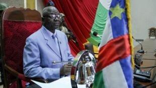 Laurent Ngon Baba, le 29 octobre 2018 à Bangui.