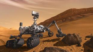 Robot Curiosity មន្ទីរពិសោធន៍ចល័ត ដែលទីភ្នាក់ងារ NASA បញ្ជូនទៅធ្វើការសិក្សាពីស្ថានភាពលើភពព្រះអង្គារ