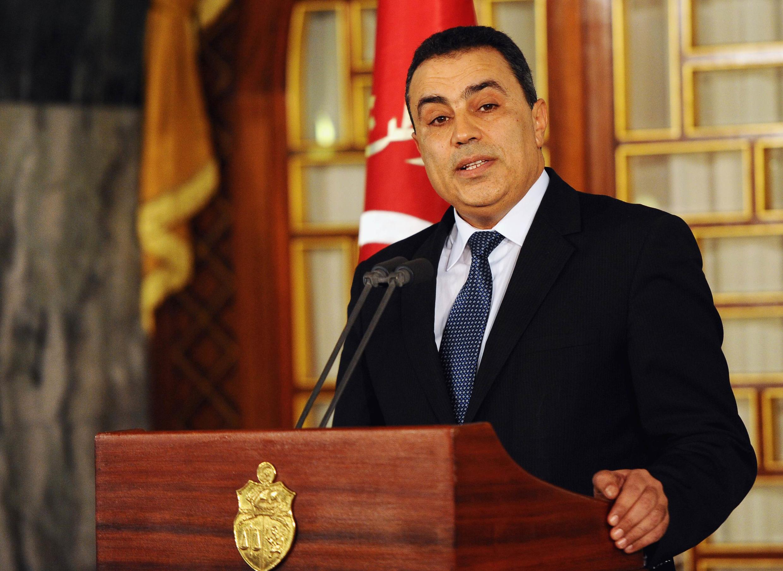 Le Premier ministre tunisien Mehdi Jomaa a réussi à former un nouveau gouvernement d'indépendants, Tunis, le 27 janvier 2014.