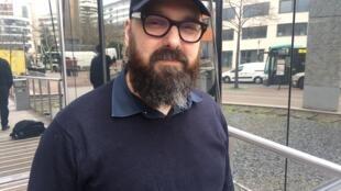 O diretor de teatro Felipe Hirsch