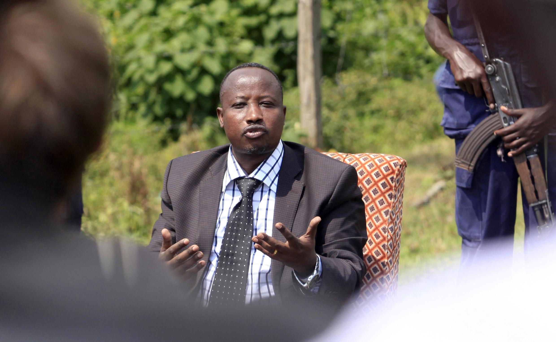 Jean-Marie Runiga, le coordonnateur politique du M23, le 11 juillet 2012.