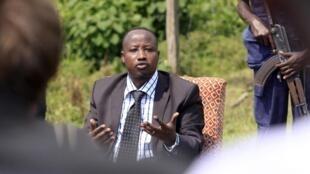 Kiongozi wa Kisiasa wa Kundi la Waasi la M23 Jean-Marie Runiga Lugerero ambaye amewekewa vikwazo na Baraza la Usalama la Umoja wa Mataifa UNSC