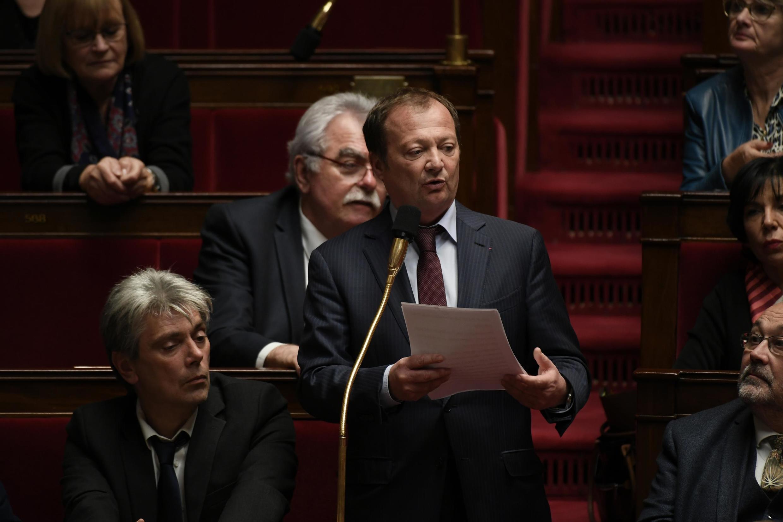 Stephane Peu, député de la Seine-Saint-Denis.