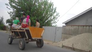 Los gitanos en Rumania.