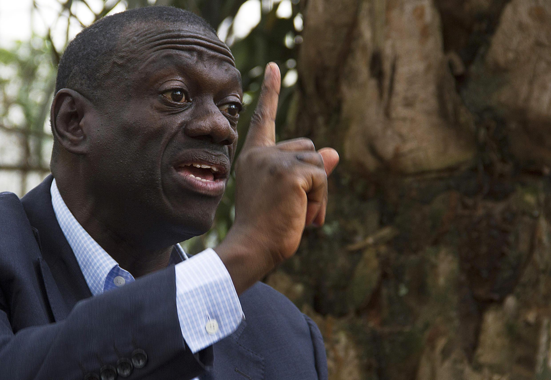 Kiongozi wa upinzani nchini Uganda Kizza Besigye.