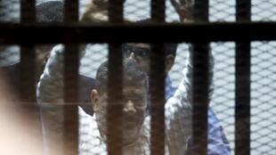 Rais wa zamani Morsi anaweza kukata rufaa dhidi ya hukumu mbili za Jumanne Juni16 mwaka 2015.