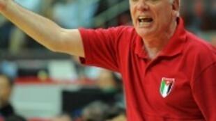 Mário Palma, treinador da selecção portuguesa de basquetebol