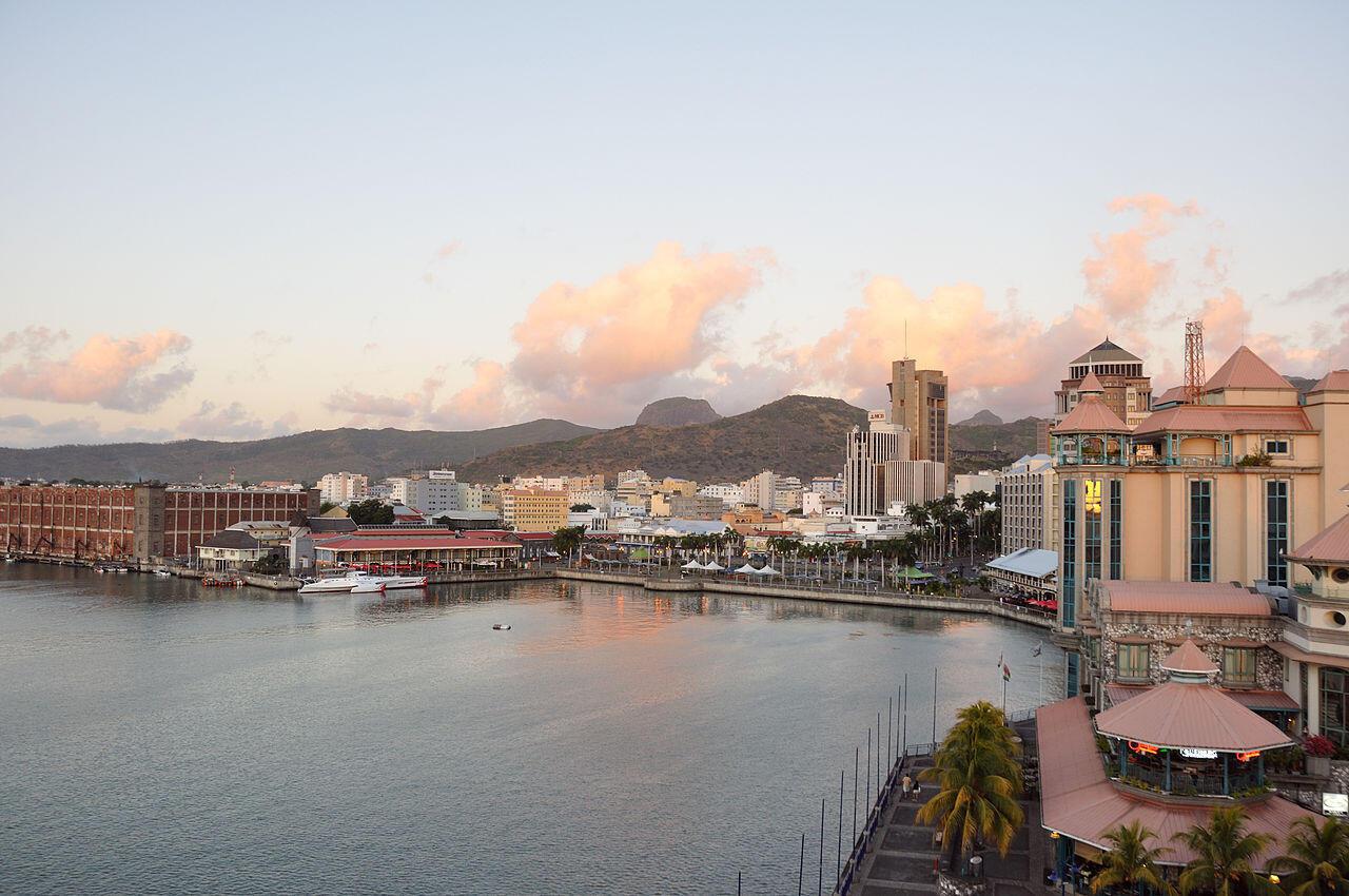 Port-Louis, capital das ilhas Maurícias
