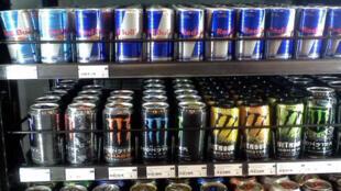 Bar de bebidas energéticas