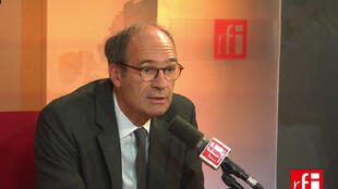 Eric Woerth, ancien ministre du Budget, député-maire UMP de Chantilly.