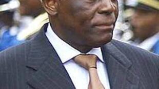Le président angolais José Eduardo dos Santos.