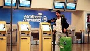 20國峰會前夕,阿根廷國有航空公司發起無限期罷工活動   2018年11月23日