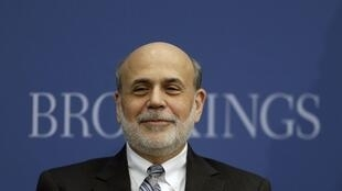 O atual presidente do Fed, Ben Bernanke.