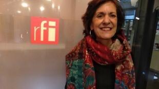 A fundadora e diretora do projeto Pipa Social, Helena Rocha.