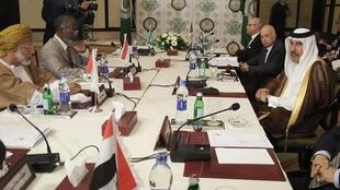 Arab League ministers meeting in Cairo to discuss sanctions against Syria
