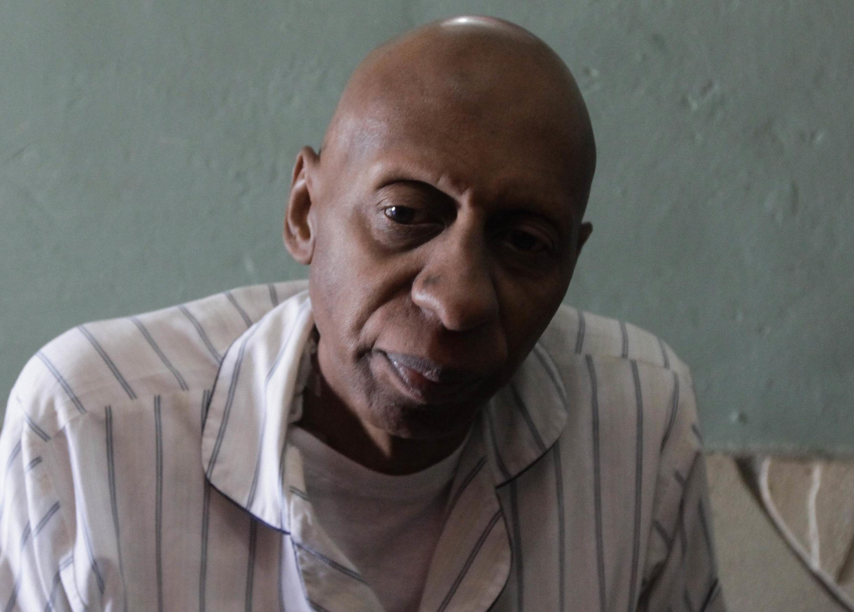 Guillermo Fariñas en 2010 antes de comenzar su huelga de hambre