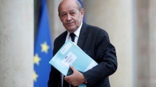 Ministan harakokin wajen Faransa  Jean-Yves Le Drian.